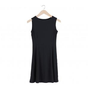 UNIQLO Black Sleeveless Mini Dress