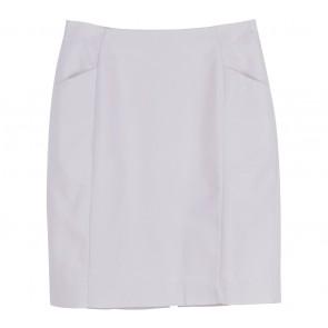 H&M Cream Basic Skirt