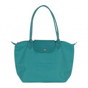 Longchamp Blue Le Pliages Tote Bag