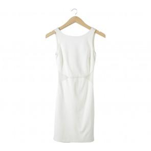Zara Off White Mini Dress