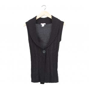 Supre Black Knit Vest