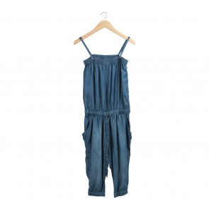 UNIQLO Blue Jumpsuit