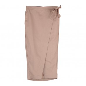 ATS The Label Brown Wrap Skirt