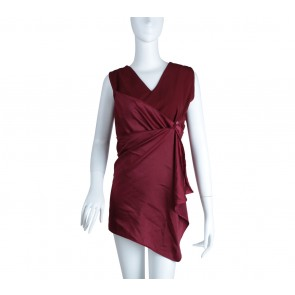 Maryalle Maroon Sleeveless