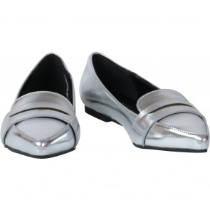 Forever 21 Silver Flats