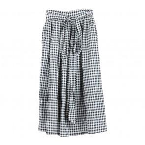 Bonschka Black And White Plaid Skirt