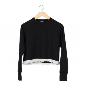 Pomelo. Black And White Sweater