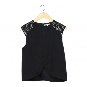 Endless Rose Black Blouse
