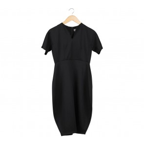Duma Black Midi Dress