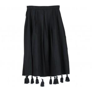 I.K.Y.K Black Tassels Skirt