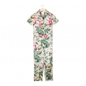 Argyle Oxford Multi Colour Floral Jumpsuit