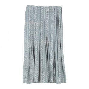 Oemah Etnik Grey Patterned Skirt