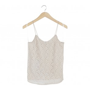 Vero Moda Cream Lace Sleeveless