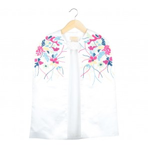 Sissae White Floral Outerwear