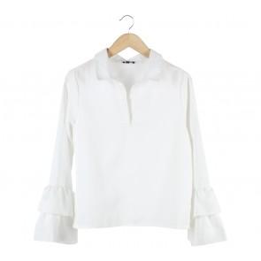 Cloth Inc Off White Blouse