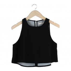 N.Y.L.A Black Cropped Sleeveless