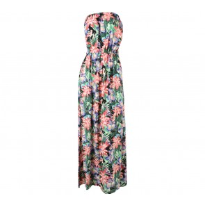 New Look Multi Colour Floral Long Dress