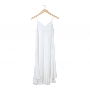 ATS The Label White Midi Dress