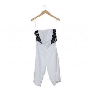 Cloth Inc White Tube Jumpsuit