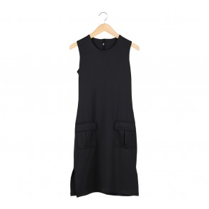 LAFI Black Midi Dress