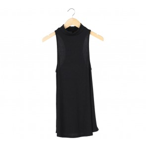 Status Quo Black Sleeveless
