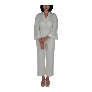 Lovo Cream Jumpsuit