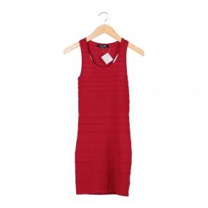 Forever 21 Red Sleeveless Mini Dress
