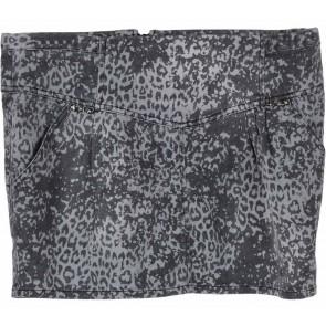 Zara Grey Patterned Skirt