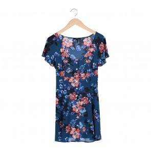 Forever 21 Blue Floral Mini Dress