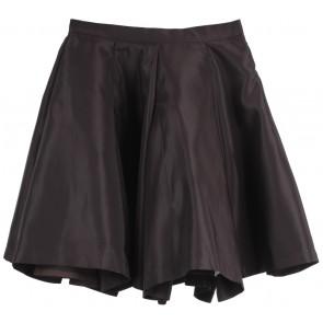 Asky Febrianti Dark Brown Skirt
