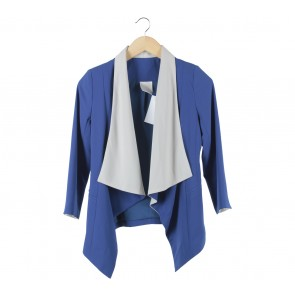 Ciel Blue And Off White Blazer