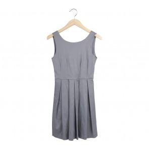 Ciel Grey Low Back Mini Dress