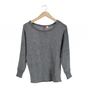 Divided Dark Grey Sweater