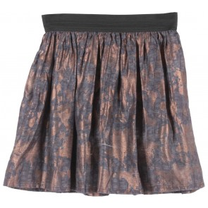 Forever 21 Purple And Bronze Skirt