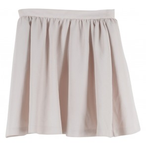 Topshop Cream Mini Skirt