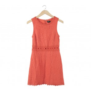 Topshop Orange Mini Dress