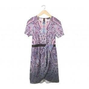 Warehouse Multi Colour Mini Dress