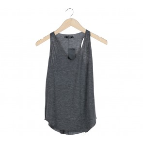Mango Grey sleeveless  T-Shirt