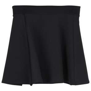 Stradivarius Black Flare Skirt