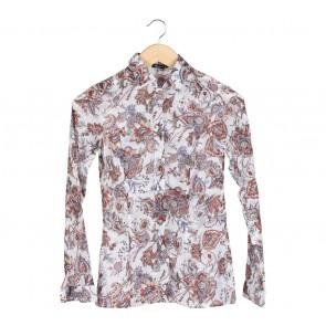 Massimo Dutti Multi Colour Floral Shirt