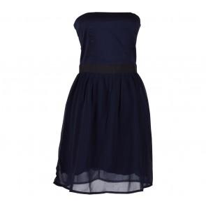 Mango Blue Sleeveless Mini Dress
