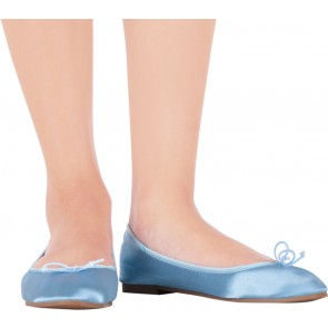 Vincci Blue Ballerina Flats