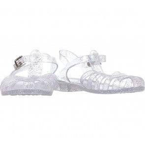 Vincci White Jelly Glittery Sandals