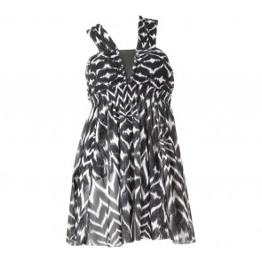 H&M Black And White Mini Dress