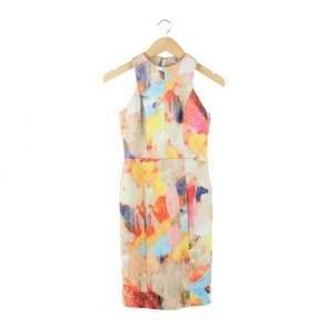 H&M Multi Colour Mini Dress