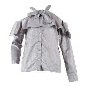 (X)SML Grey Blouse