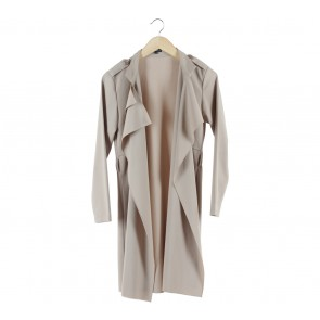 Coup Belle Nude Ruffle Outerwear