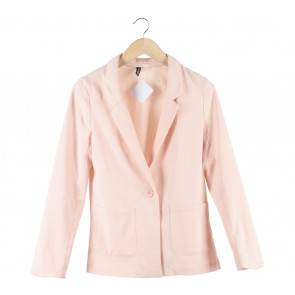 Divided Peach Blazer