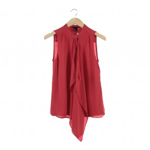 H&M Red Sleeveless