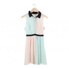 New Look Multi Colour Mini Dress